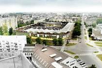 """Náměstí Přerovského povstání by se podle zastupitelů mohlo v budoucnu """"zklidnit"""" a v centru města by vznikla ojedinělá klidová zóna."""