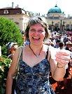 Jarmila Vráblová z Buchlovic si na zákysu pošmákla.