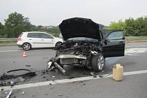 Nehoda uzavřela cestu na Brno.