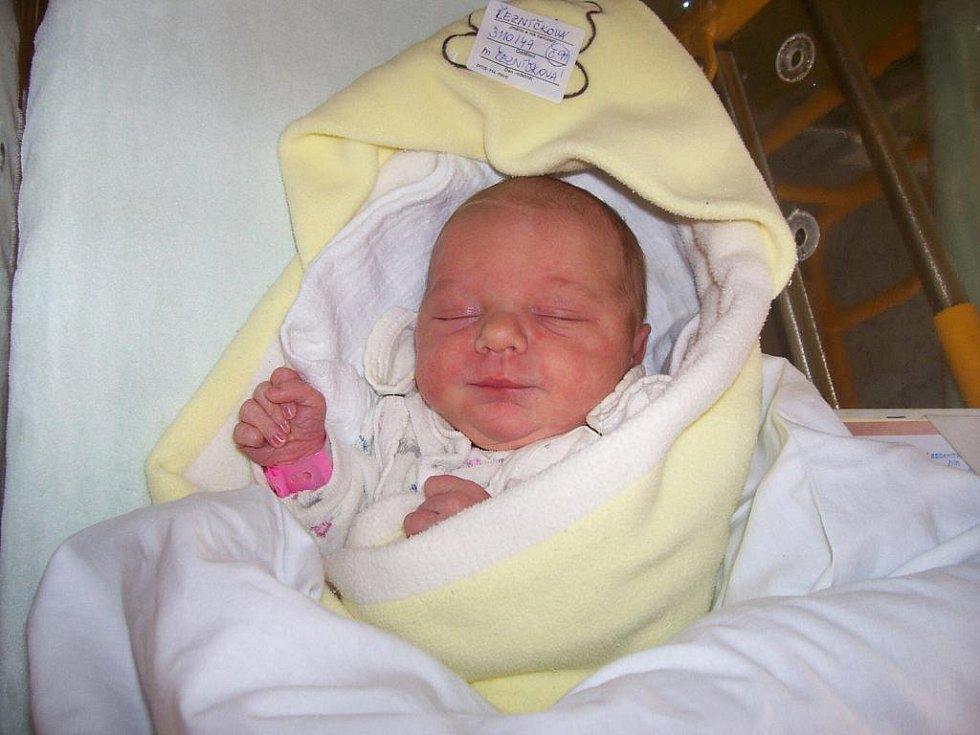 Andrea Řezníčková, 12. 12. 2009, 49 cm, 3110 g, Březolupy