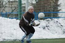 Fotbalisté Ostrožské Nové Vsi s přehledem zvítězili, výhru jim pomohl vychytat i trenér Libor Soldán