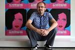 37. Letní filmová škola začala v pátek 22. července v Uherském Hradišti. Na snímku umělecký ředitel Pavel Bednařík.