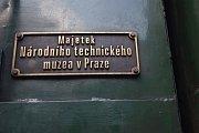Parní lokomotiva Rosnička přivezla do Hradiště soupravu plnou návštěvníků Slováckých slavností vína.