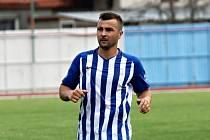 Bývalý kapitán Slovácka Vít Valenta hraje I. A třídu skupinu B za Újezdec-Těšov.