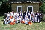 Malá Rosénka na Mezinárodním folklorním festivalu Strážnice 2007.
