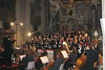 Requiem zaznělo v hradišťském farním kostele v podání Svatopluku a zlínských filharmoniků