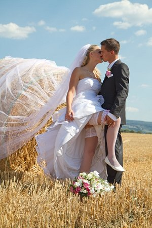 Soutěžní svatební pár číslo 129 - Kateřina a Michal Martinákovi, Nivnice.