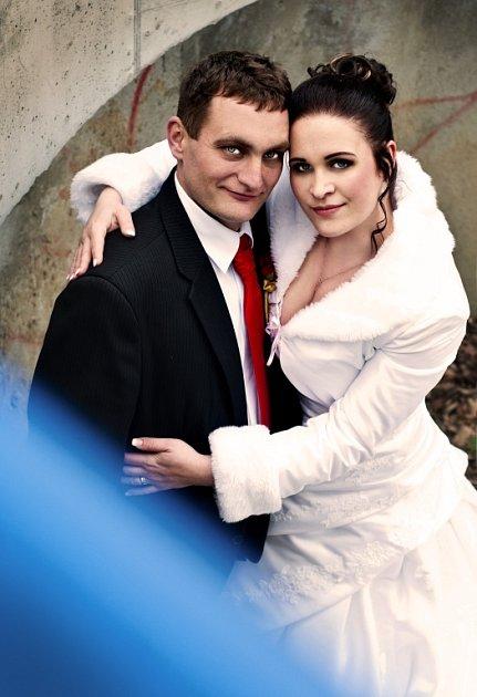 Soutěžní svatební pár číslo 293 - Michal a Kateřina Vlkovi, Kvasice.