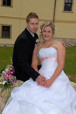Soutěžní svatební pár číslo 42 - Lucie a Lukáš Neumannovi, Zábřeh.