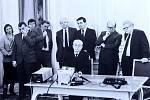 Festival Letní filmová škola Uherské Hradiště 20199. 12.1989 prezident Gustáv Husák na Pražském hradě