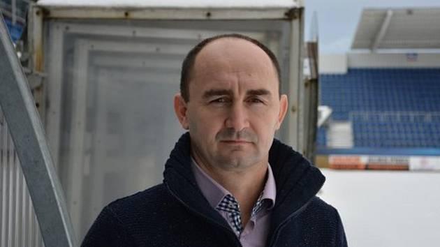 Výkonný ředitel klubu a člen představenstva 1. FC Slovácko Petr Pojezný.