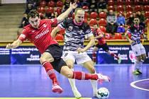 Futsalisté Uherského Hradiště (v maskáčových dresech)