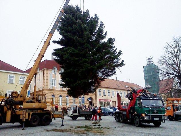 Ilustrační foto z Uherského Brodu z roku 2011.