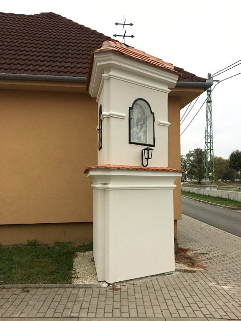 Město Uherské Hradiště nechalo opravit boží muka vRybárnách.