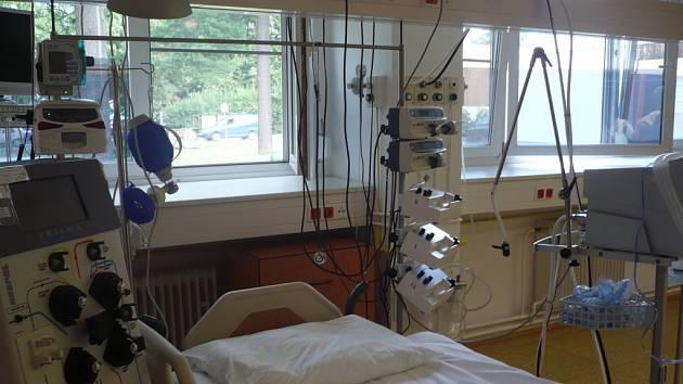 Slavnostní otevření rekonstruovaného oddělení ARO v uherskohradišťské nemocnici.