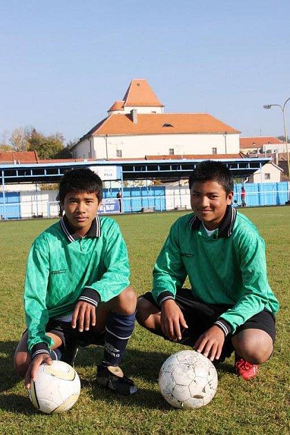 Barmští bratři Tum Thang a Van David se v Hluku aklimatizovali.