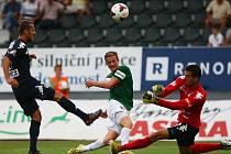 Jablonec - 1. FC Slovácko. Ilustrační foto.