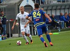 1. FC Slovácko - FC Vysočina Jihlava. Ilustrační foto