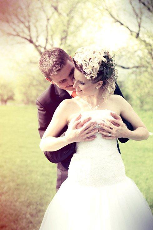 Soutěžní svatební pár číslo 17 - Petra a Petr Karlíkovi, Hulín
