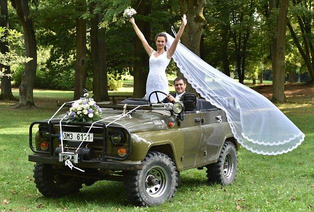 Soutěžní svatební pár číslo 65 - Denisa a Jan Zapletálkovi, Tovačov