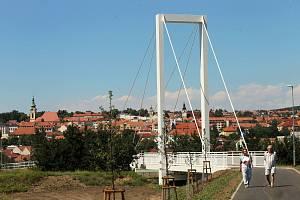 Otevření lávky Všudybud v Uherském Brodě.