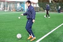 1. FC Slovácko zkouší pětadvacetiletého Bělorusa Antona Matveenka.