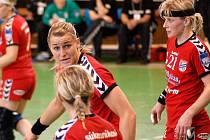 Na postupu Panenek do finále se třemi góly podílela i odchovankyně kunovické házené Helena Štěrbová.