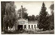 Sirnaté novoveské lázně z roku 1929.