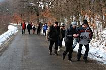 V sobotu se mohou vydat turisté na pochod kolem Břestecké skály. V cíli na ně čeká zabijačka.