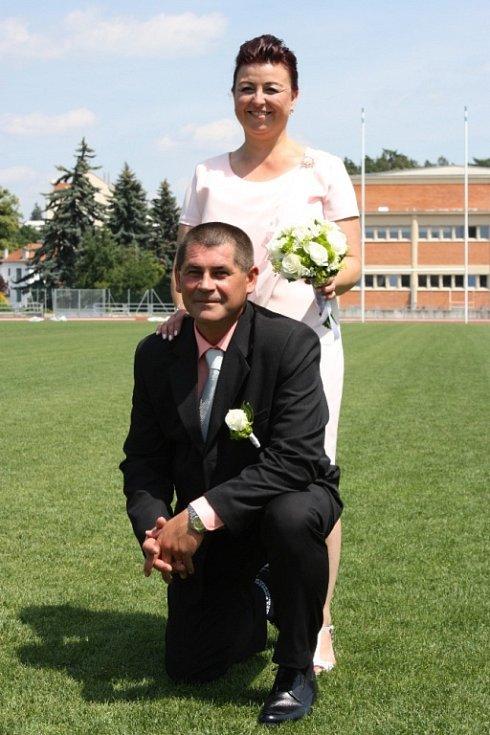 Soutěžní svatební pár číslo 108 - Miroslava a Libor Kašní, Zlín