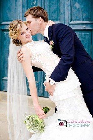 Soutěžní svatební pár číslo 25 - Veronika a Jan Bezděkovi, Olomouc .