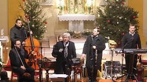Novoroční koncert Hradišťanu a Jiřího Pavlici