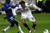 Mistrovské utkání ve fotbale muži l.Gambrinus ligy mezi FC Slovan Liberec a.s. a 1.FC Slovácko, a.s.