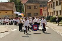 V Ostrožské Lhotě se konaly o víkendu ženáčské hody.
