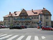 Nádraží ČD v Uherském Hradišti.Ilustrační foto.