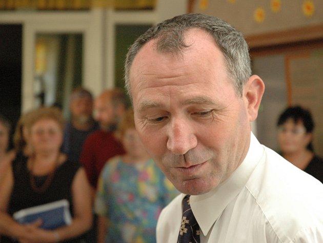 Senátor Josef Vaculík.