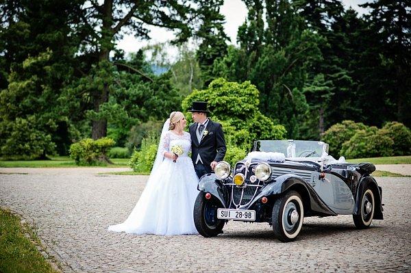 Soutěžní svatební pár číslo 139 - Lucie a Patrik Heidenreichovi, Šumperk