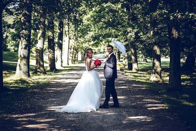 Soutěžní svatební pár číslo 145 - Martina a Pavel Mlčouškovi, Prostějov