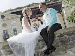 Soutěžní svatební pár číslo 39 - Petra a Aleš Zemánkovi, Veselíčko u Lipníka nad Bečvou