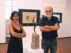 Jiří Vlach a jeho dcera Veronika Machová budou vystavovat v Galerii Slováckého muzea.