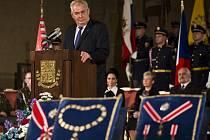 Prezident Miloš Zeman předal 28. října na Pražském hradě státní vyznamenání.
