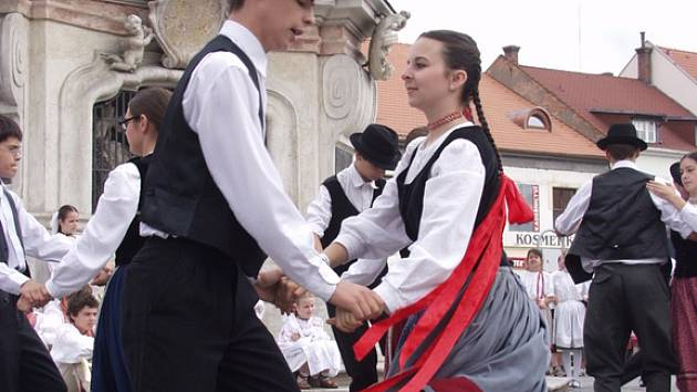 Tanečníci Kunovského léta
