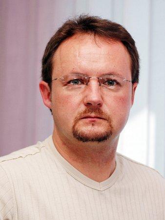 Redaktor Slováckého deníku Pavel Bohun.