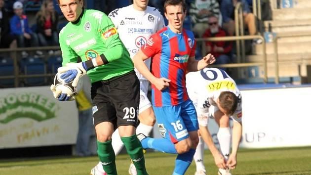 1. FC Slovácko - Plzeň. Milan Heča.