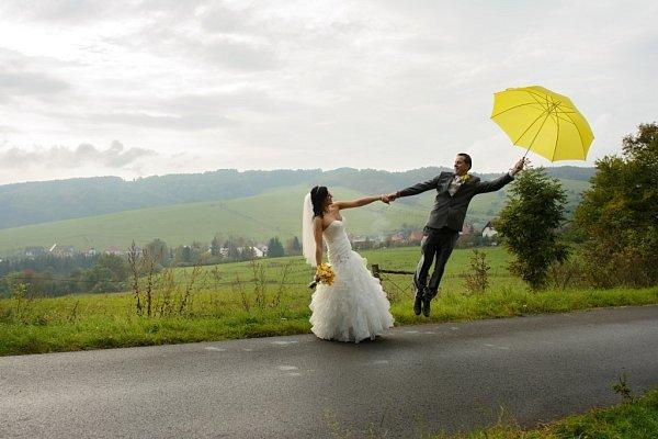 Soutěžní svatební pár číslo 257 - Martin a Lenka Schmiedlovi, Slavičín.