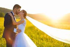 Soutěžní svatební pár číslo 61 - Nikol a Martin Kudelkovi, Mikulovice