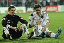 Velmi prestižní bude zítřejší souboj fotbalistů Slovácka s pražskou Spartou pro stopera bílomodrých Tomáše Radu (vpravo). Opět bude muset bojovat proti klubu, kde s fotbalem začínal.