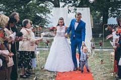 Obránce Slovácka Stanislav Hofmann se v letní přestávce oženil.