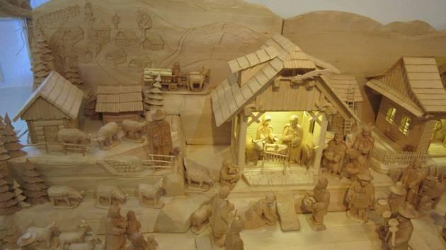 Výstava betlémů vUherském Brodě.