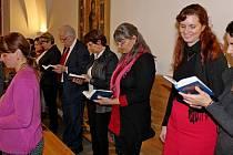Historicky první literární pouť na Velehradě se uskutečnila k poctě básníka Jana Zahradníčka, vězněného za totality na Mírově a v Leopoldově